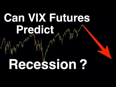Video #94)  Can VIX Futures Predict Recession?