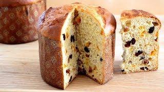 Panettone casero verdadero - Pan dulce de Navidad