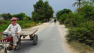 Punjab Village Tour On My Bicycle | Rural Life Part 6