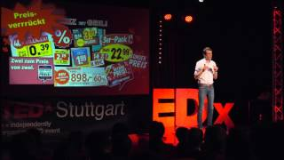 Billig ist teuer | Emanuel Vonarx | TEDxStuttgart