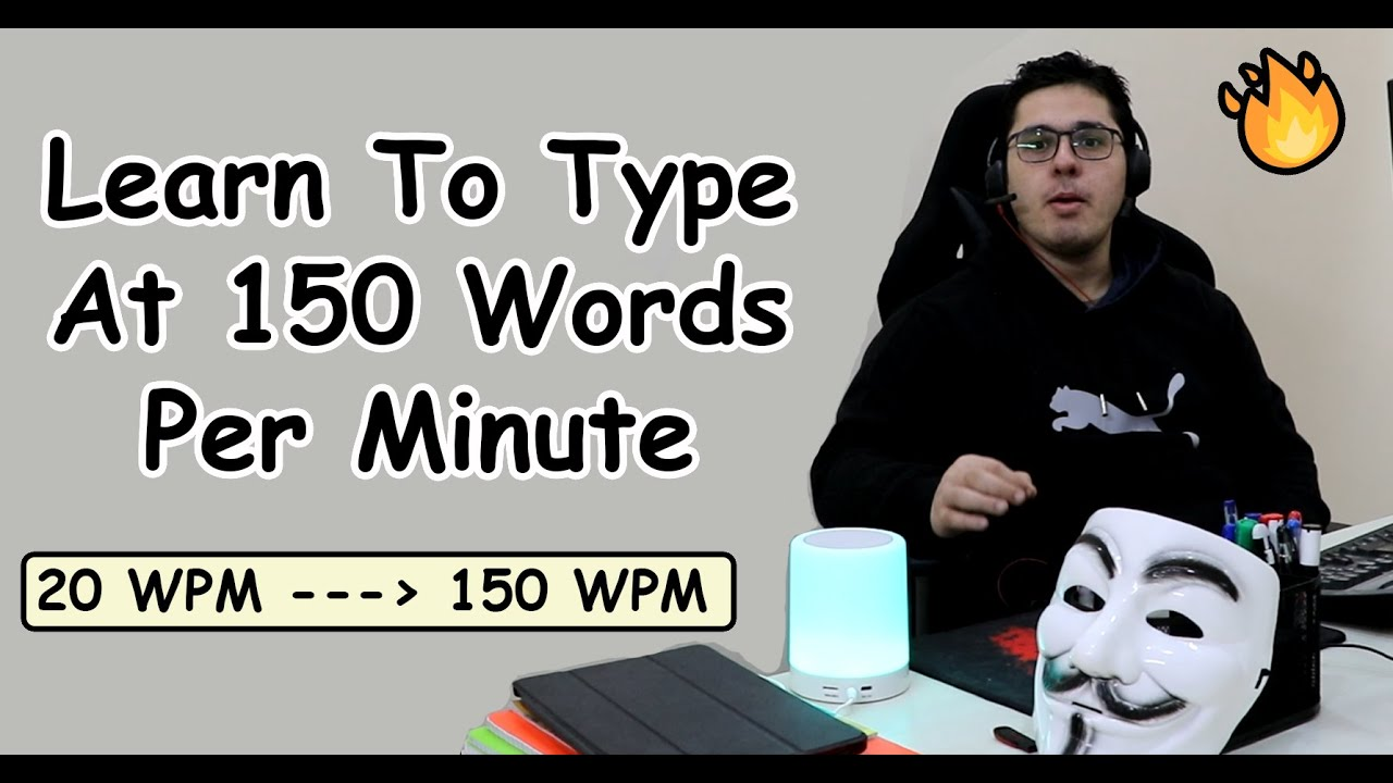 Download How I Learned to Type Really Fast (150 Words/Minute)