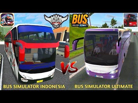 Bus Simulator Ultimate Vs Bus Simulator Indonesia | Best Games Comparison - Best Bus Games