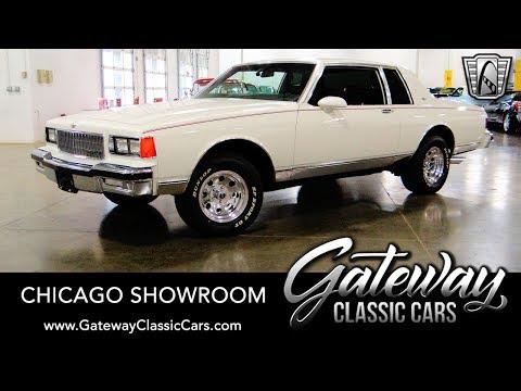1986 Chevrolet Caprice Classic - Gateway Classic Cars #1685 Chicago