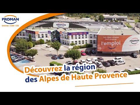 Manosque et Proman au coeur des Alpes de Haute Provence - PROMAN