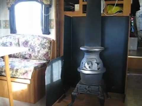 Wood Stove in an RV - quick intro - Wood Stove In An RV - Quick Intro - YouTube