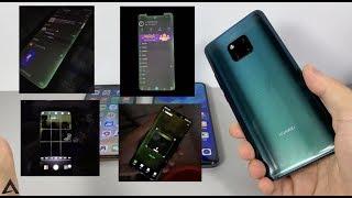 """华为Mate20 Pro""""绿屏门""""测试:对比iPhone XS,有图有真相!"""