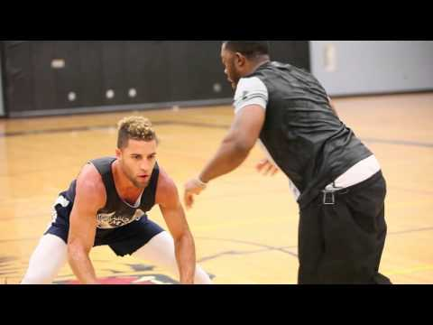 Desi Washington Pro Basketball Training Session