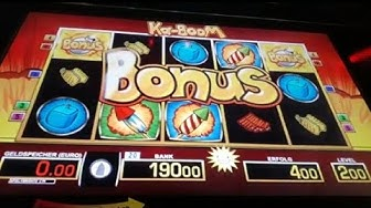 💣2 Euro Fach Bonus kommt rein 💣👈Ka-Boom Part2 💣Moneymaker84, Merkur Magie, Novoline, Merkur
