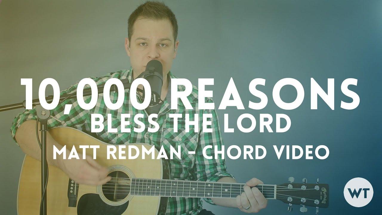 10000 reasons chords key of g pdf