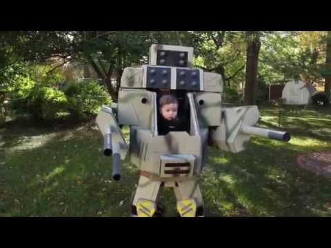 Mechwarrior dad/baby costume