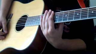 Three Days Grace - Never Too Late (Acoustic Guitar Cover)