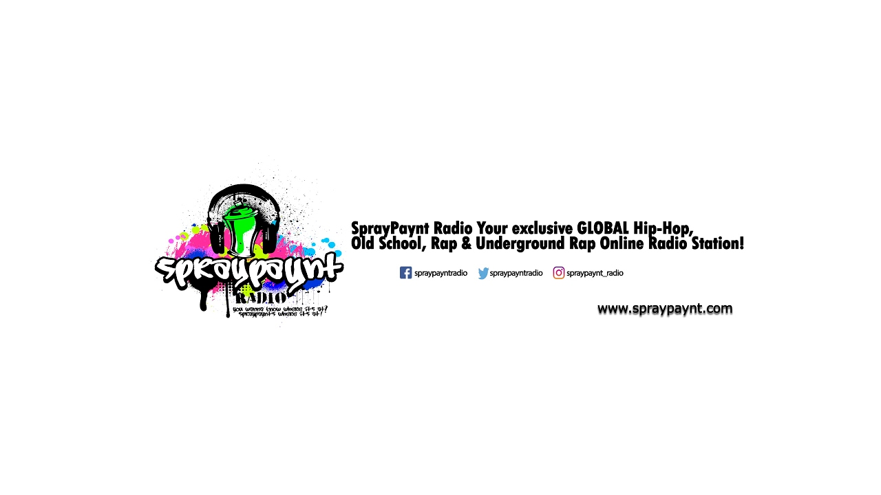 Spraypaynt Radio Live Stream Hip Hop/Underground Rap/NEW  ARTISTS/Island/R&B/Soul