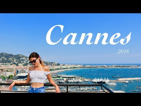 Cannes, Côte d'Azur // Travel Vlog 2018