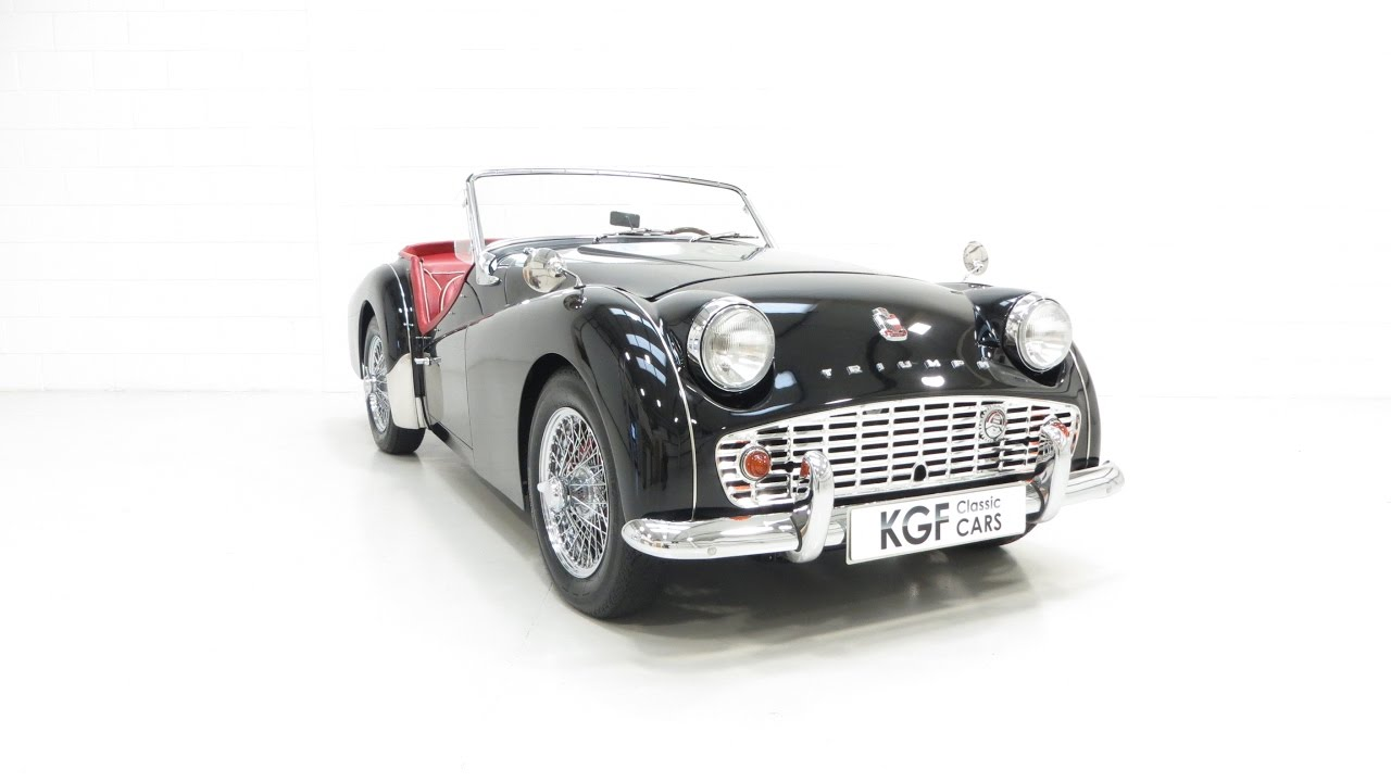 An Astonishingly Beautiful Triumph Tr3a Meticulously Restored Sold