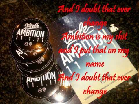 Wale ambition ft meek mill & rick ross