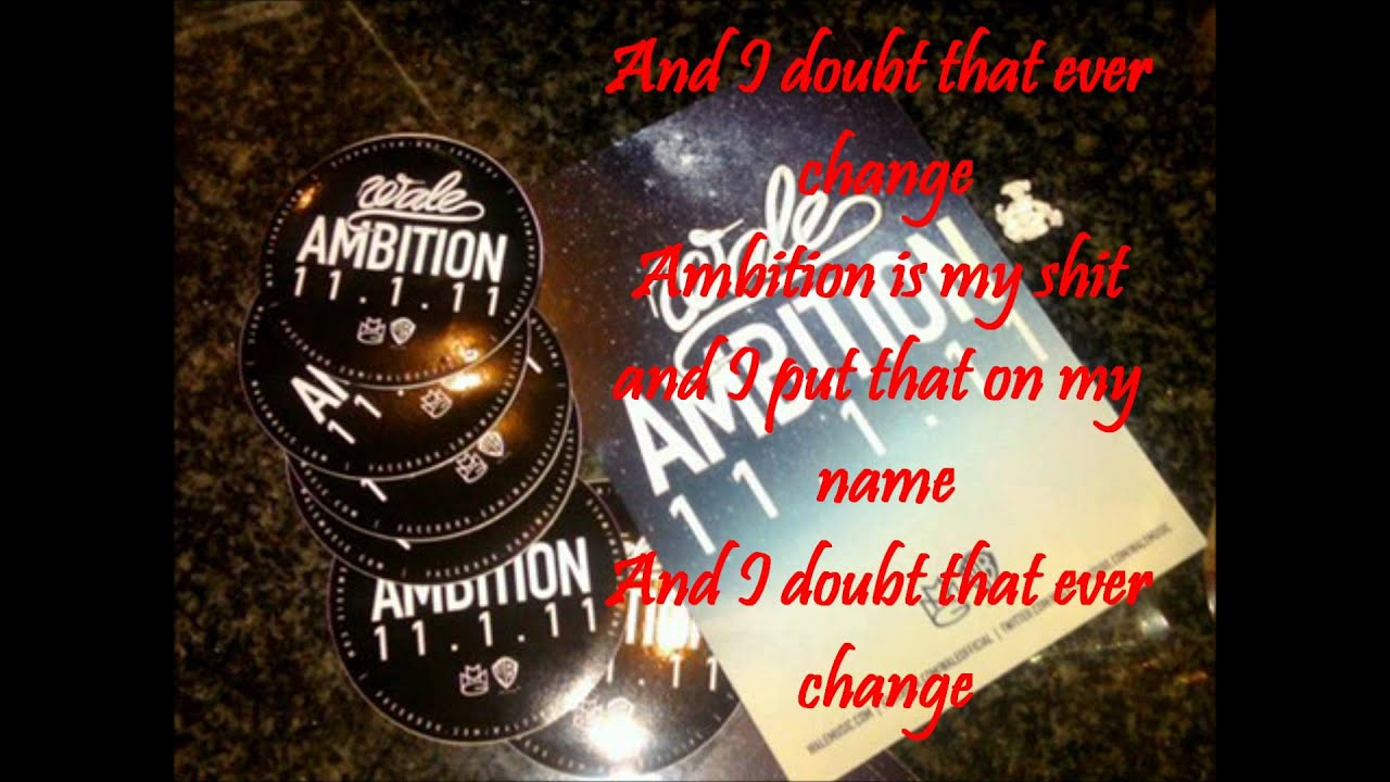 Wale Ambition Ft Meek Mill Rick Ross Prod T Minus Mp3 ...