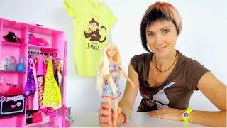 Новое новогоднее платье для Барби. Маша и Барби идут в магазин. Видео для девочек.(Сегодня выходной и Маша с Барби пошли по магазинам. Девочки очень любят покупать себе обновки. Особенно..., 2015-11-26T07:24:45.000Z)