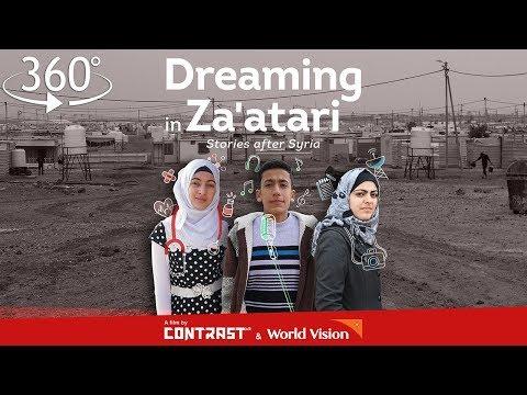 أحلام من مخيم الزعتري.. قصص شبان سوريين يعرضونها بتقنية 360 درجة  - 13:22-2018 / 3 / 20