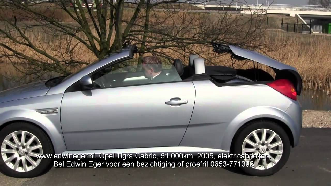 opel tigra cabrio coupe te koop bij edwin eger youtube. Black Bedroom Furniture Sets. Home Design Ideas