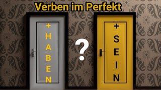 Perfekt с 'haben' или 'sein'?  | Образуване на мин. време на немски език Perfekt
