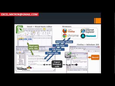 Selenium automation using Excel VBA - Selenium-VBA