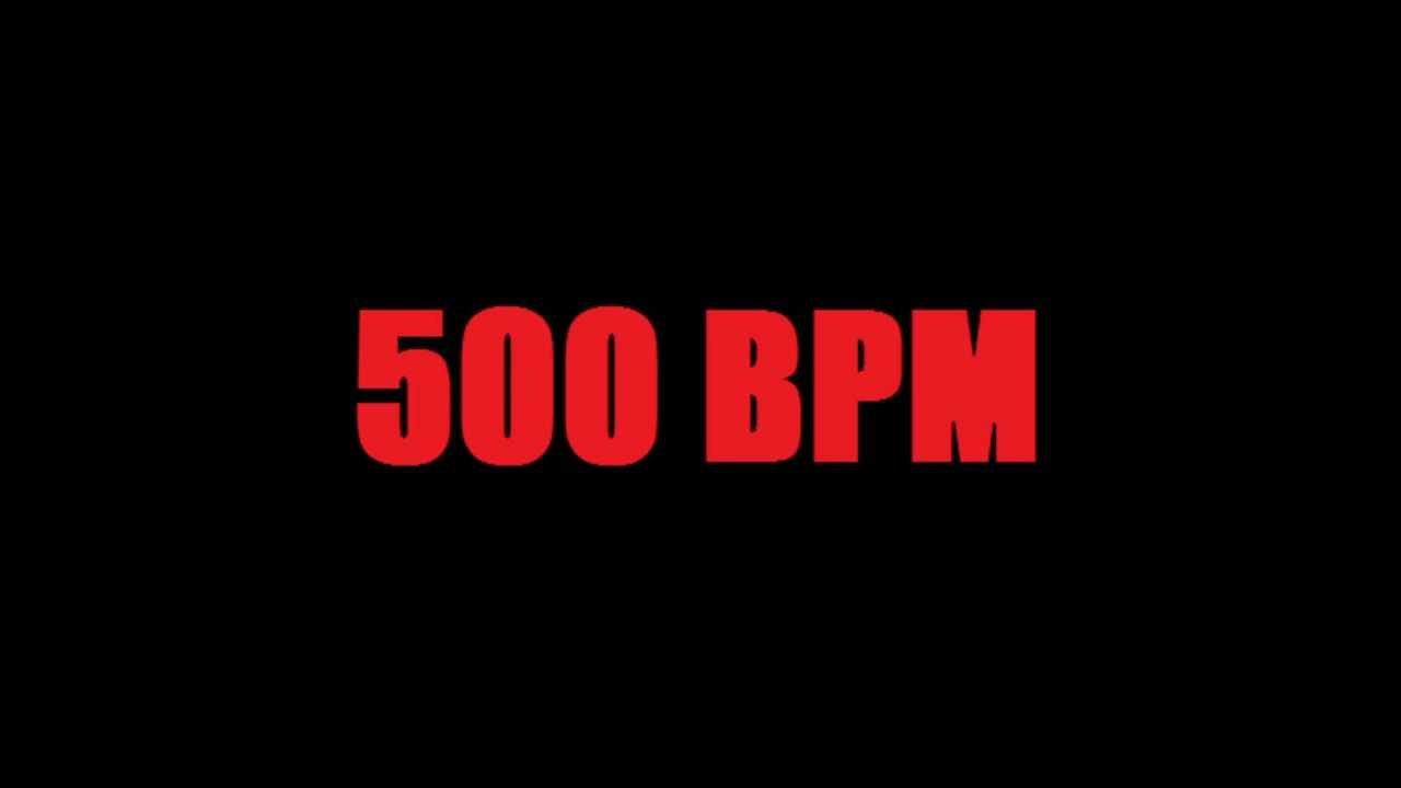LOUD Metronome 500 BPM