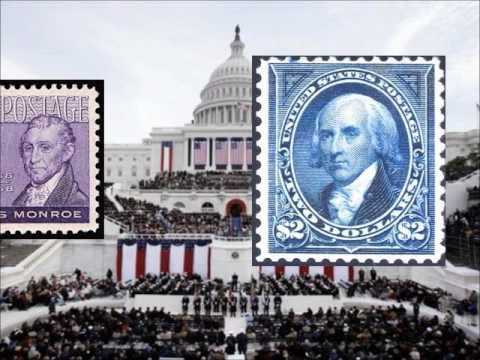 U.S. Presidents on Stamps