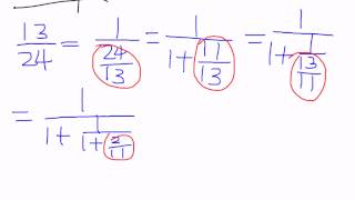 Geometry of Numbers: Lecture 2.1.1 - Continued Fraction
