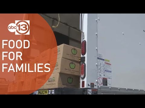 Food Distribution Relaunches For Families In Need
