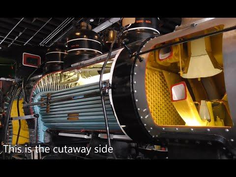 Cutaway Steam Locomotive - How A Locomotive Works
