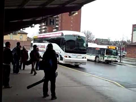 Two Coach Canada Buses