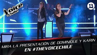 The Voice Chile | Dominique y  Karin - Back in black