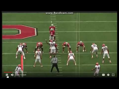 Ohio State Inside Zone Read-film breakdown