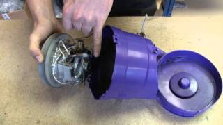 How to replace the Motor on a Dyson DC05 Vacuum Cleaner