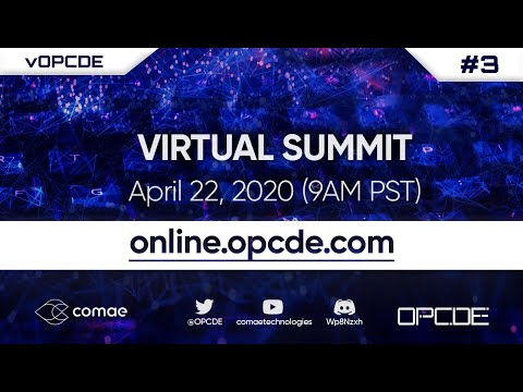 LIVE CYBERSECURITY VIRTUAL SUMMIT | April 22, 2020 | vOPCDE