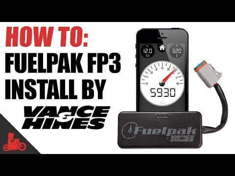 How To: Vance & Hines Fuelpak FP3 Install (Harley-Davidson