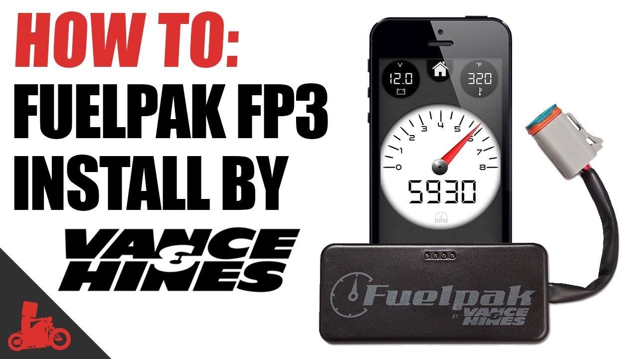 How To: Vance & Hines Fuelpak FP3 Install (Harley-Davidson)