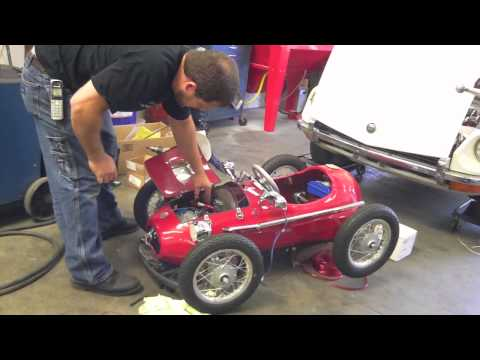 1952 Ferrari F2 Go Kart Test 1