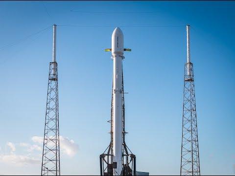 Русская трансляция пуска Falcon 9: Zuma