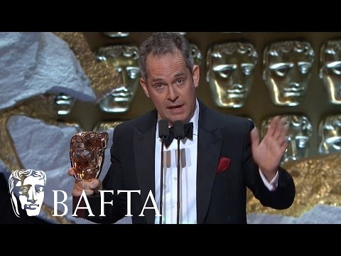 Tom Hollander wins Supporting Actor for The Night Manager | BAFTA TV Awards 2017