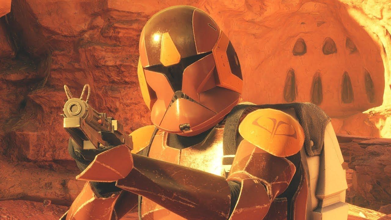 Spec Ops Clone Trooper Gameplay Star Wars Battlefront 2 Youtube