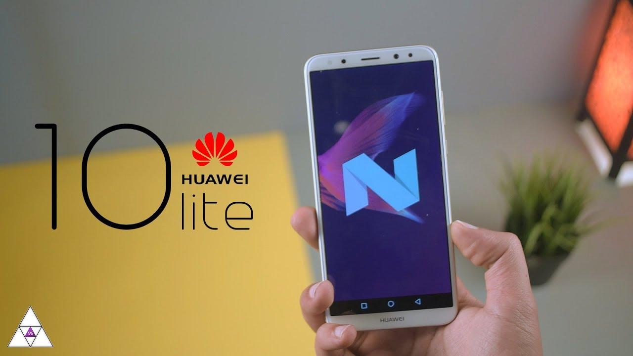 2692f0b17 مراجعة هواوى ميت 10 لايت  Huawei Mate 10 lite   هل هو هاتفك القادم ؟!🤔