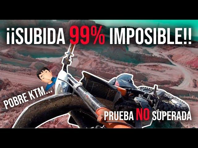 ¡¡Poniendo la KTM 125 2T AL LÍMITE!!🔥🤘 Subida casi IMPOSIBLE #4
