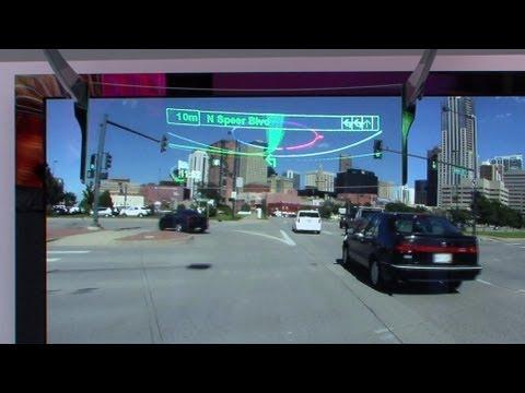 Pioneer AR-HUD Car Navigation System #DigInfo