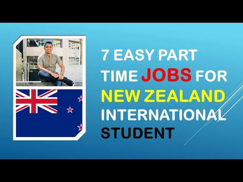 7 Part-time Jobs In New Zealand For International Students With No Experience