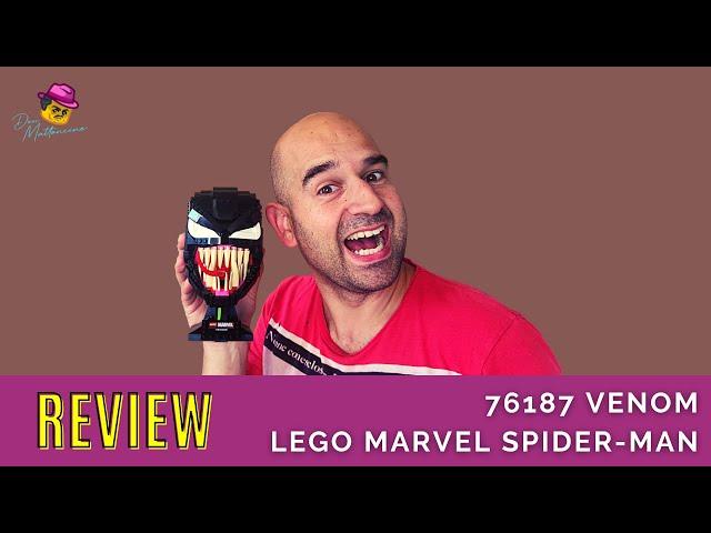 Vorsicht bissig! LEGO Set Venom 76187 aus dem Spider-Man Universum im Review