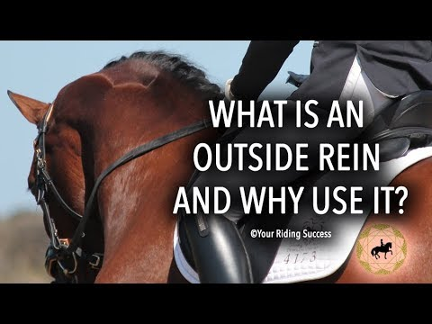 What is an Outside Rein and Why Use It? - Dressage Mastery TV Ep 188