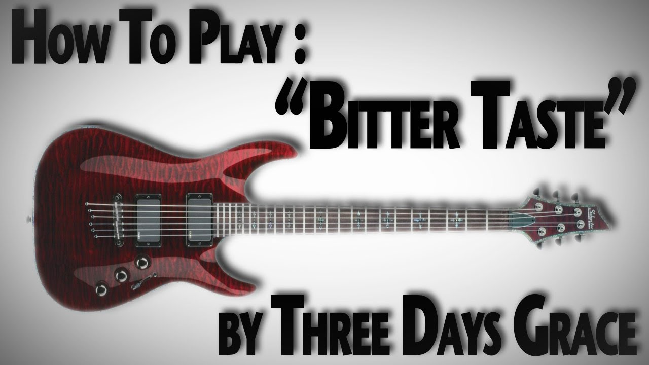 THREE DAYS GRACE : Bitter Taste lyrics