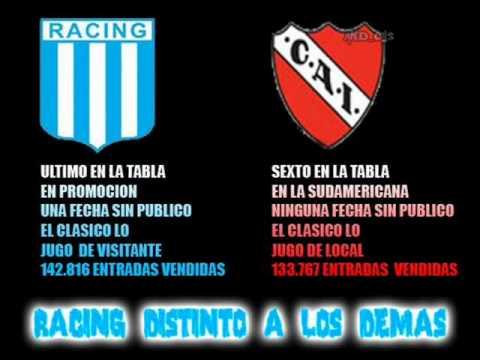 Cargadas De Racing A Independiente