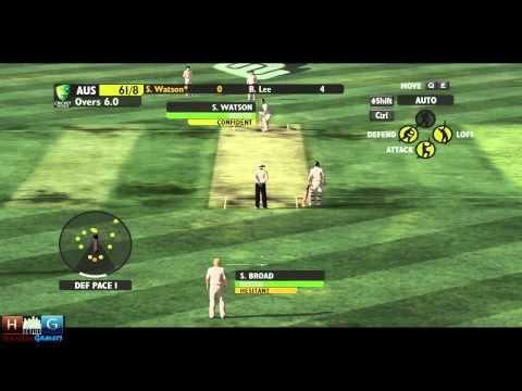 Ashes Cricket™ 2009 : England v/s Australia - Ashes 1st Test Match (Episode #1)